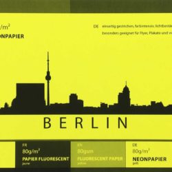 Unser Neonpapier in Gelb