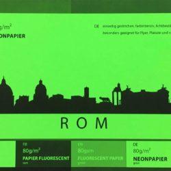 Unser Neonpapier in Grün
