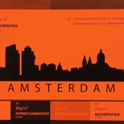 Unser Neonpapier in Orange