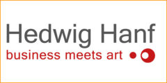 Logo - Hedwig Hanf - Business Meets Art