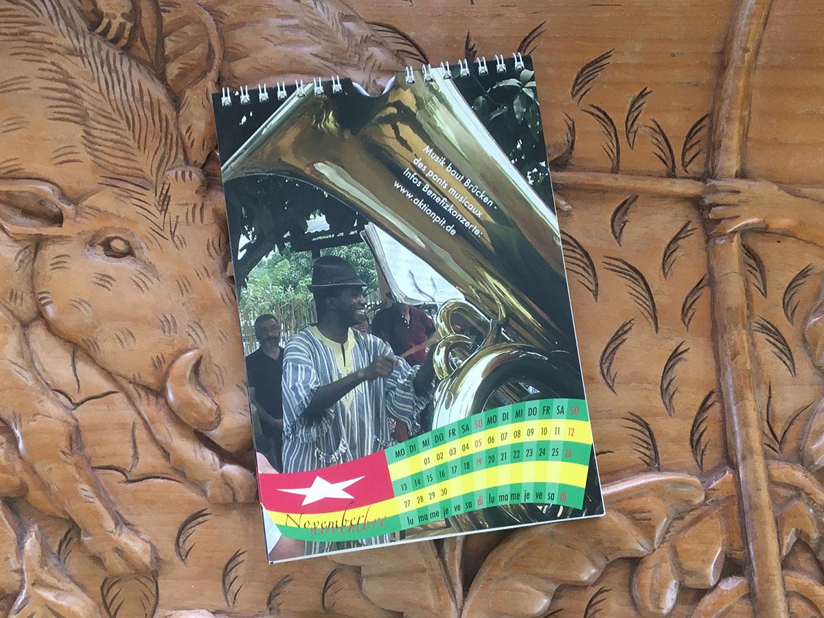Das November-Blatt des Togo-Kalenders von 2006